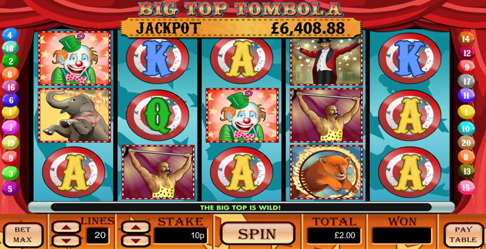 Big Top Tombola Screenshot
