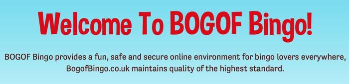 About BOGOF Bingo