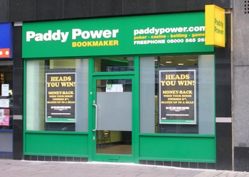Paddy Power High Street Shop
