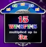 Reel Gems 15 Win Spins