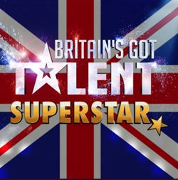 Britain's Got Talent Superstar Slot Logo