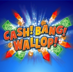 Cash! Bang! Wallop! Slot Logo