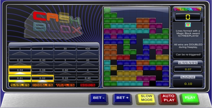 Cash Blox Slot