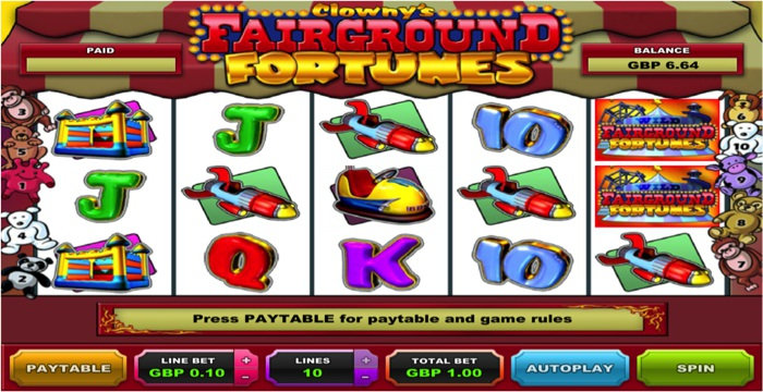 Clowny's Fair Ground Fortunes Slot