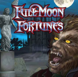 Full Moon Fortunes Slot Logo