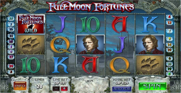 Full Moon Fortunes Slot