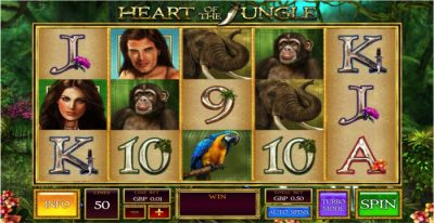 Heart of the Jungle Slot