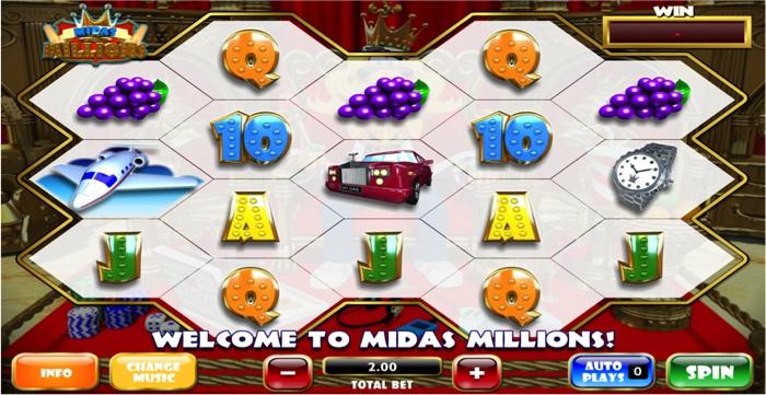 Midas Millions Slot