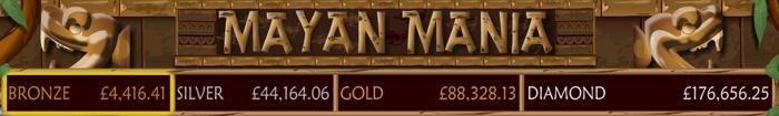 Mayan Mania Jackpot