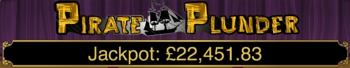 Pirate Plunder Jackpot