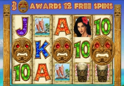 Hawaiian Treasure Free Spins