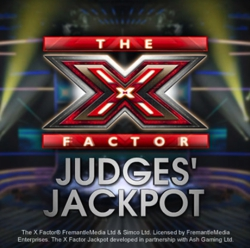 X Factor Judges' Jackpot Logo