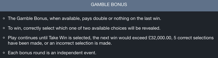 Piggy Payout Gamble Bonus
