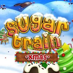 Sugar Train Xmas Slot Logo