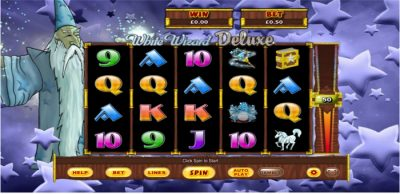 White Wizard Deluxe Slot
