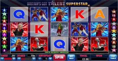 Britain's Got Talent Superstar Slot