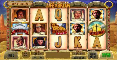 Monty Python's Life of Brian Slot